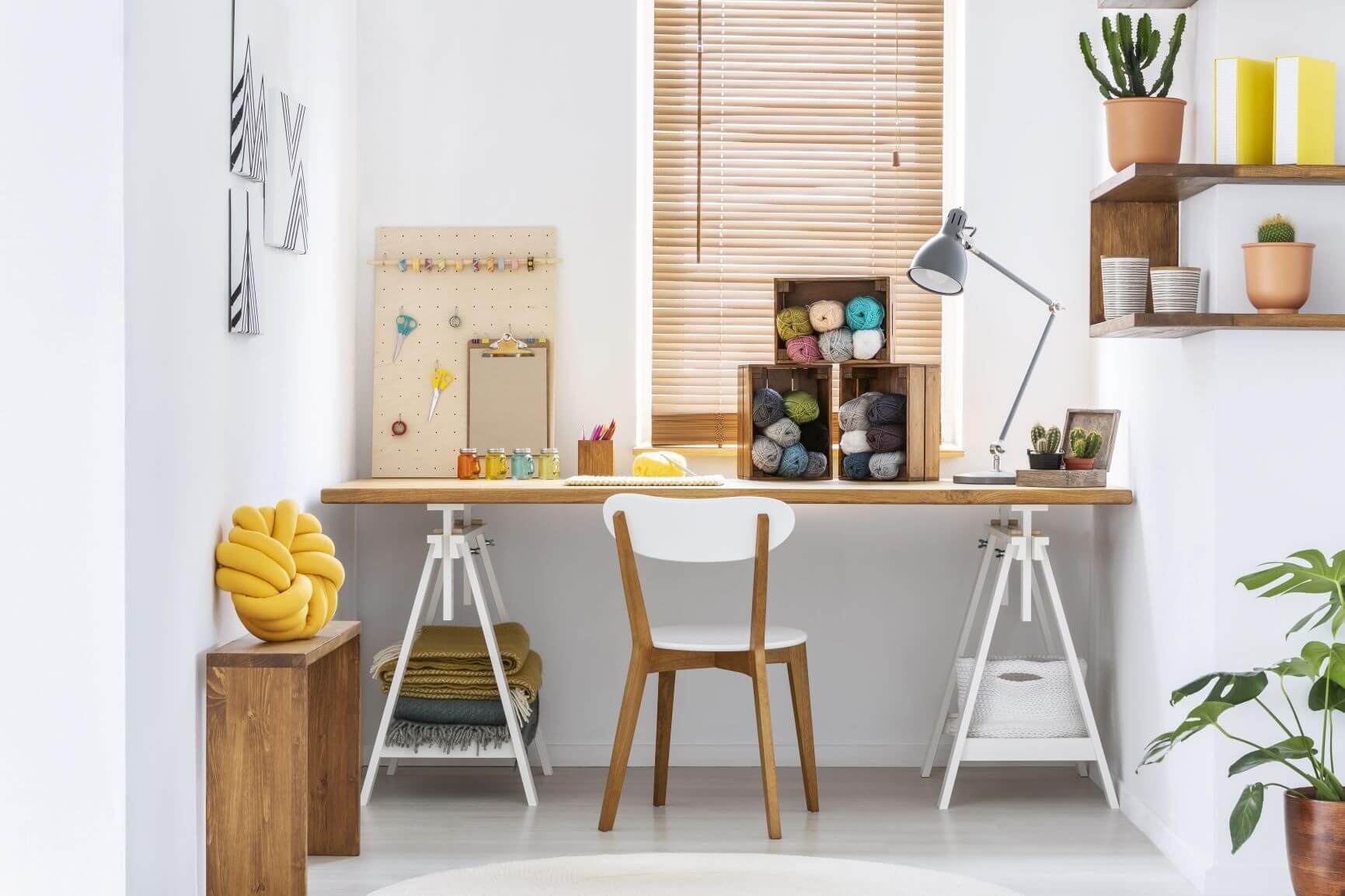 Hobby Workspace At Home Storage Ideas