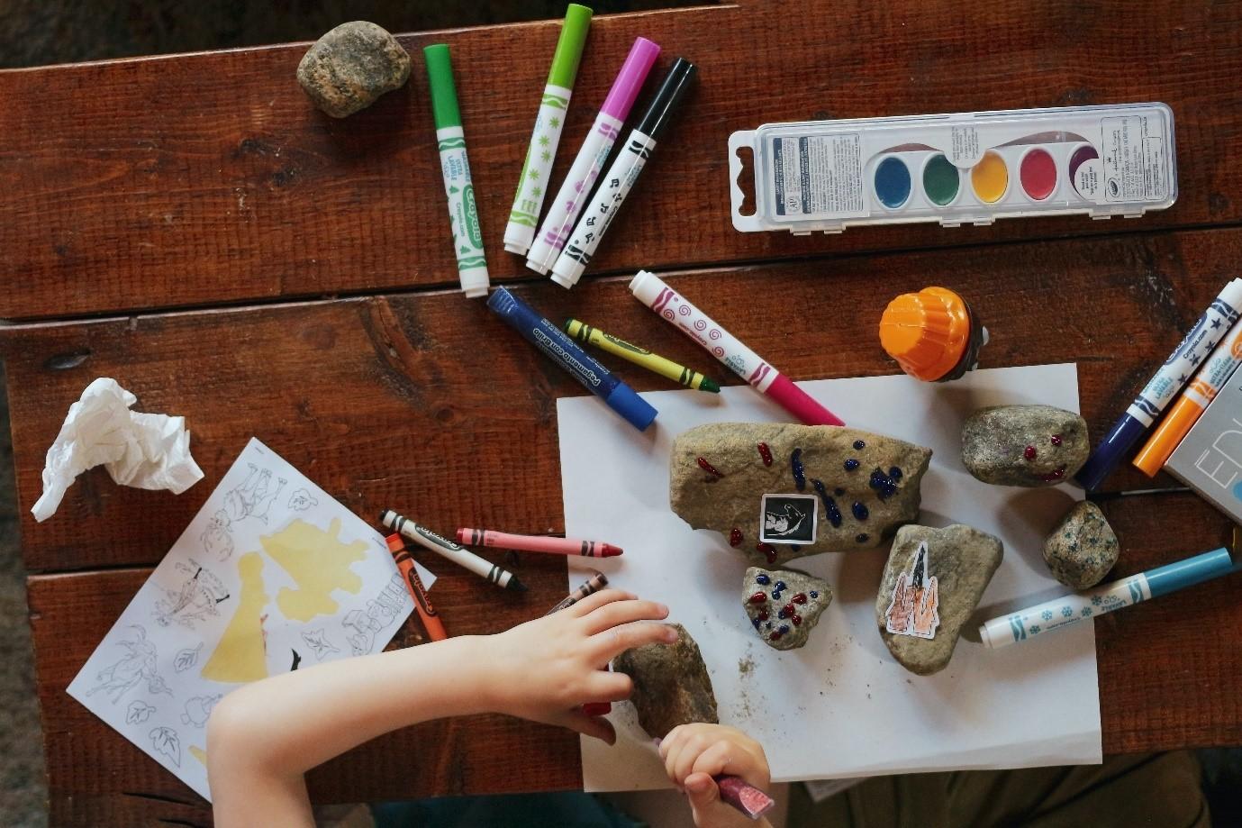 Create a fun visual learning space