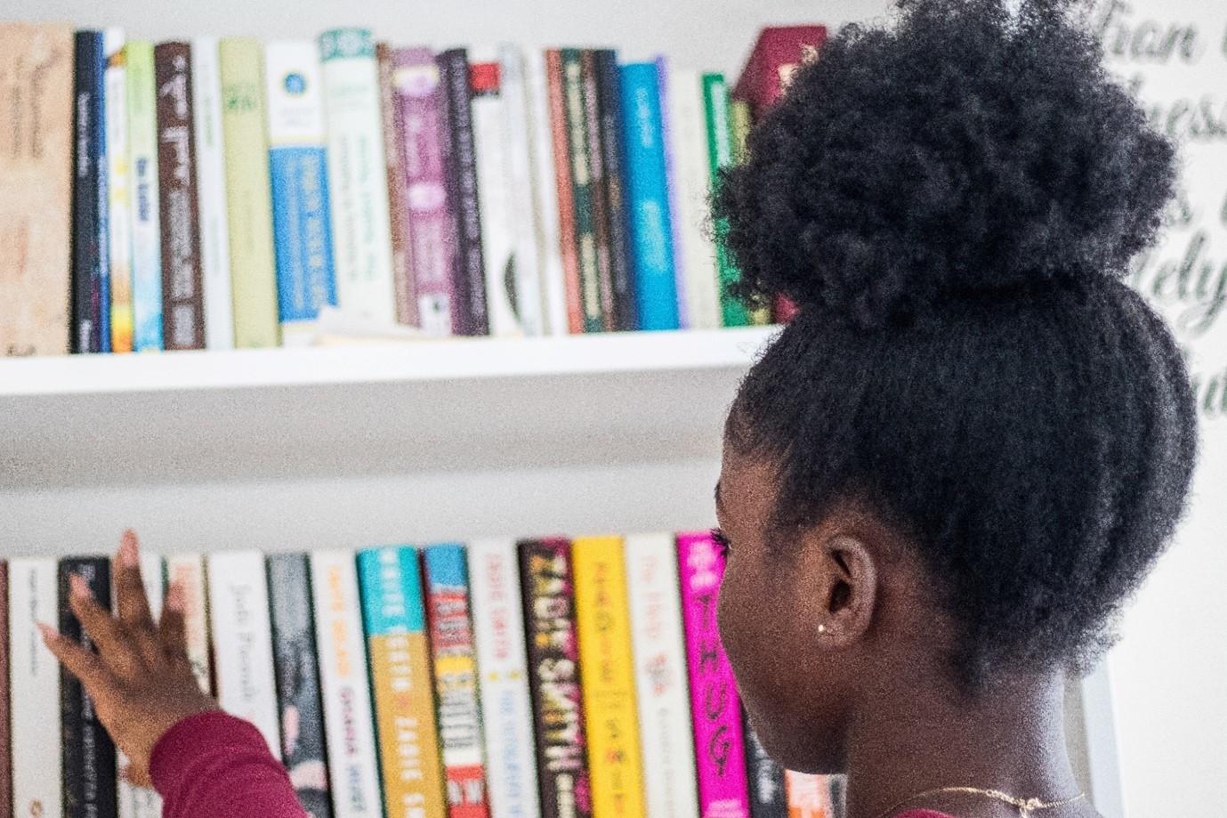 Display books to encourage reading