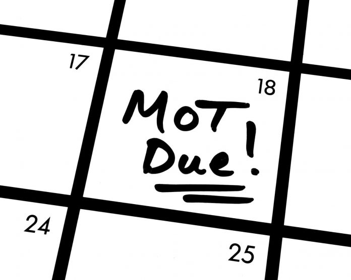 how to know when mot due